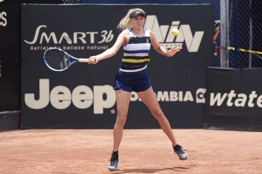 WTA Bogota: Amanda Anisimova becomes youngest USA champion since Serena