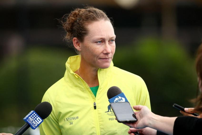 Samantha Stosur admires Ashleigh Barty and awaits tight Belarus tie