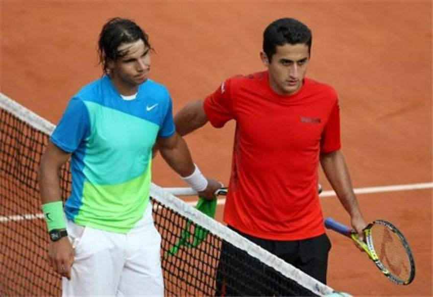 Almagro:'I was unlucky to face Rafael Nadal three times at the French Open'