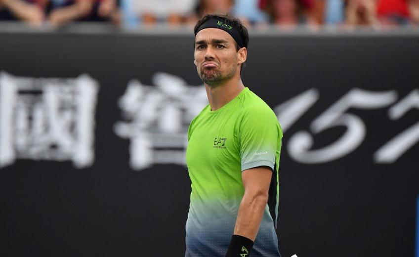 Fognini: 'I have taken a decision. I play until the French Open, then...'