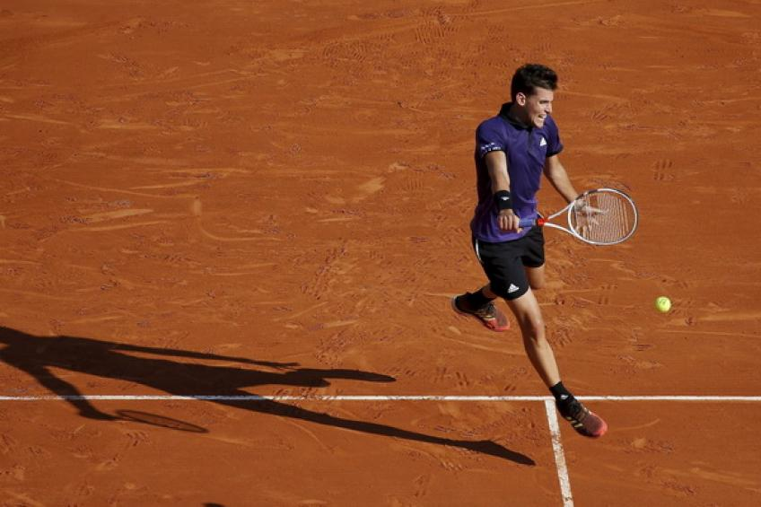 ATP Monte Carlo: Dominic Thiem and Grigor Dimitrov advance. Goffin bows out