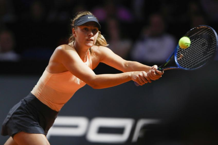 Maria Sharapova withdraws from Stuttgart, not ready to compete at her best
