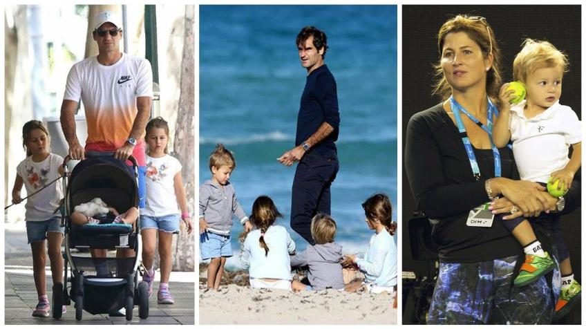 Roger Federer: 'I cried when my two daughters were born'