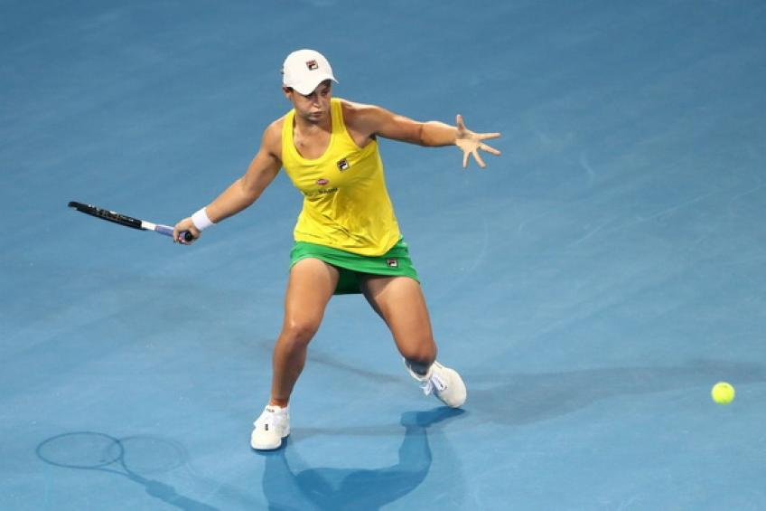 Fed Cup: All square in Brisbane between Australia and Belarus after day one