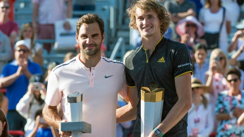 Roger Federer may be the only perfect thing in tennis, says Zverev