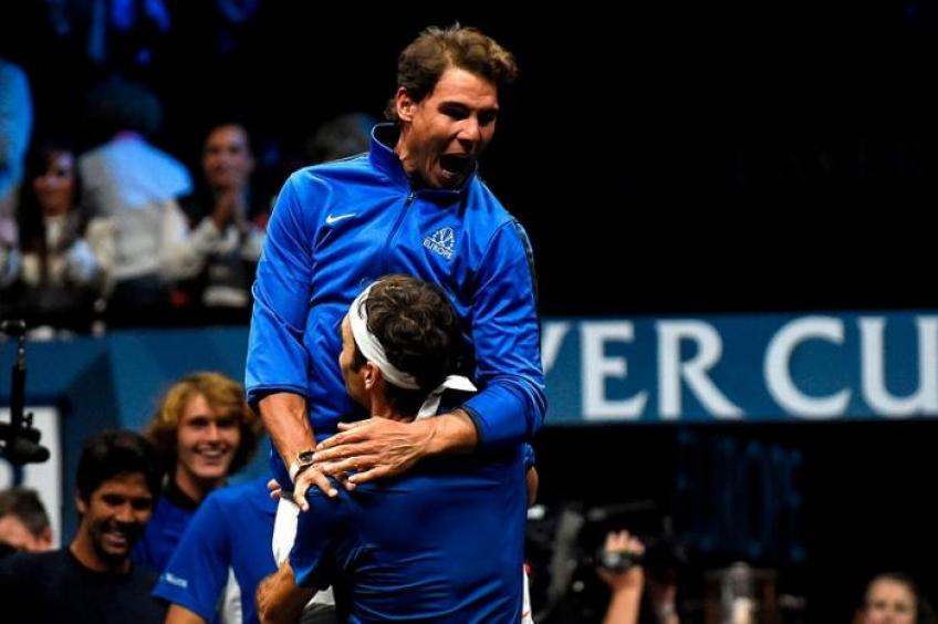 Federer: 'I was supposed to play doubles with Rafael Nadal in 2007 Madrid'
