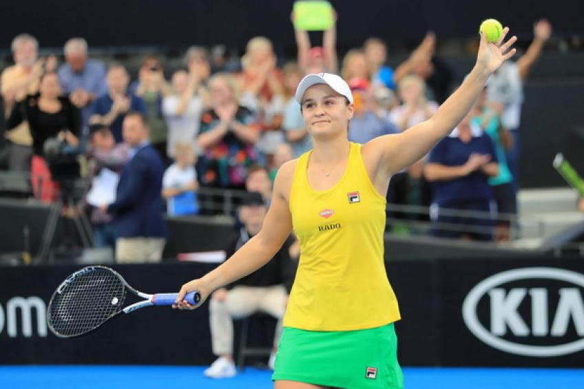 Ashleigh Barty writes Fed Cup history as the first player with..