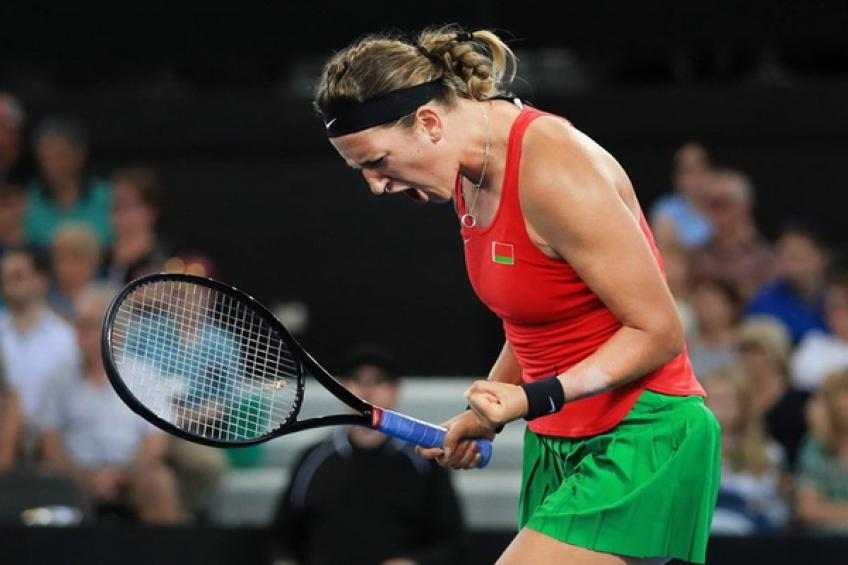 Victoria Azarenka takes positive notes from tough Fed Cup loss in Brisbane