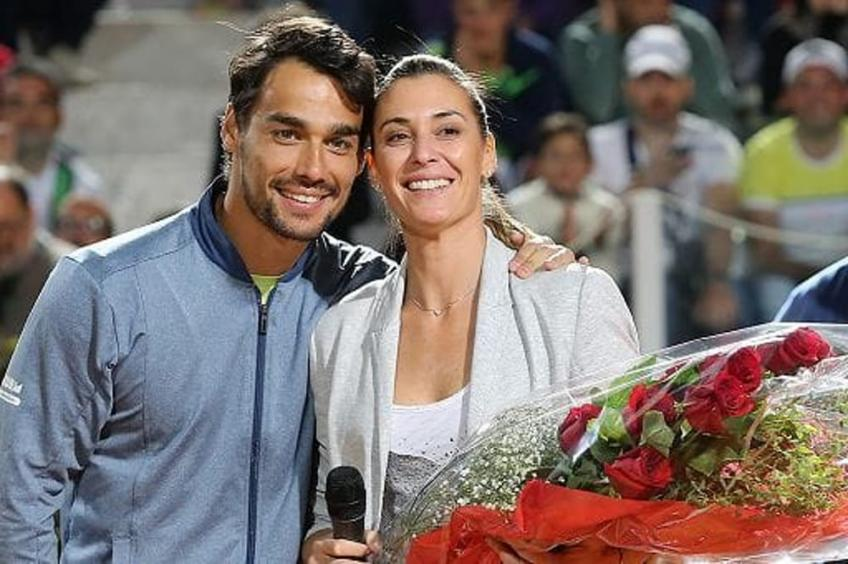 'It was an amazing day' - Pennetta on Fabio Fognini beating Rafael Nadal