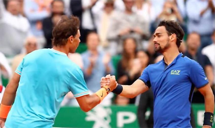 Rafael Nadal is still the French Open favorite, says Fabio Fognini