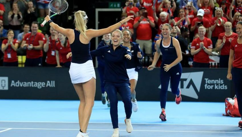 Anne Keothavong in awe of British Fed Cup team