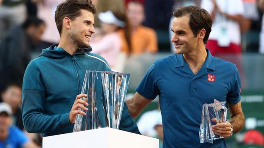 Dominic Thiem: 'I am not overly confident for my win over Roger Federer'