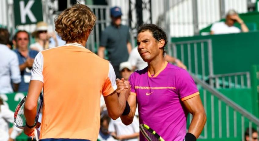Alexander Zverev: 'Everybody wants to face Rafael Nadal on clay'
