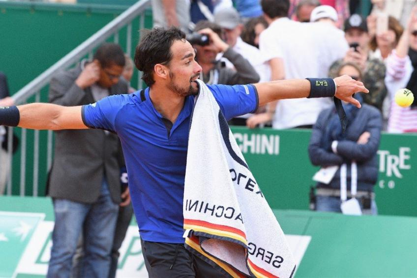 Fabio Fognini doesn't set comeback date to tennis after injury