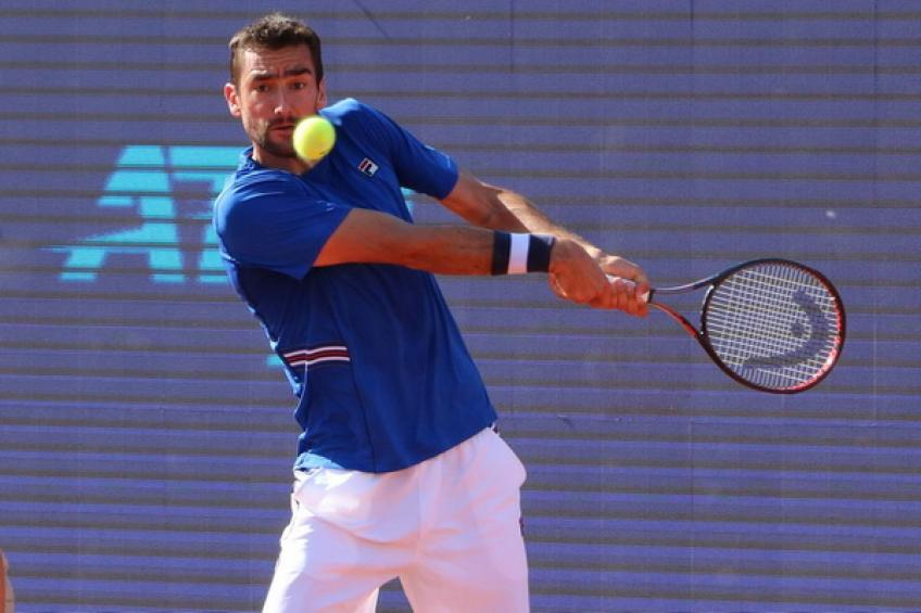 ATP Budapest: Marin Cilic wastes MP for another loss. Coric and Djere win