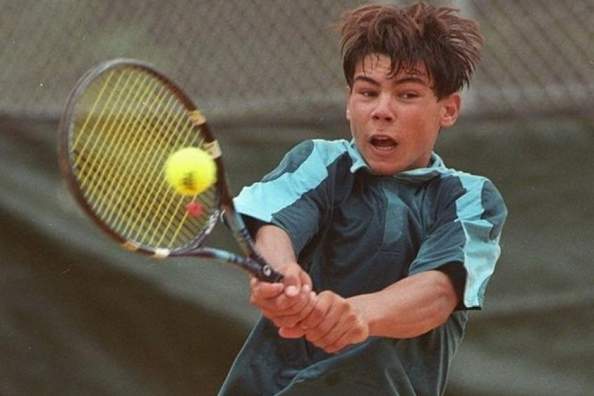 On this day: Rafael Nadal announces his arrival at the age of 15