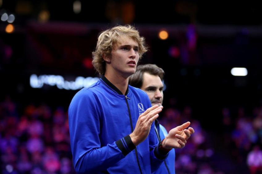 Alexander Zverev: 'Roger Federer has always been my idol, I remember...'