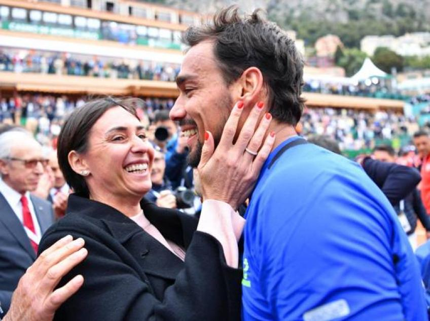 Image result for fognini pennetta parents