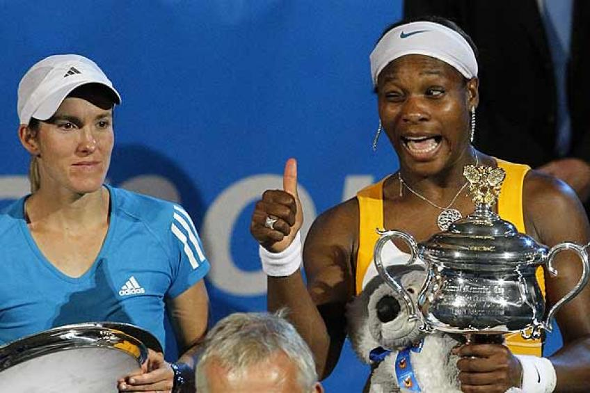 Justine Henin: 'Serena Williams was the toughest I ever faced'