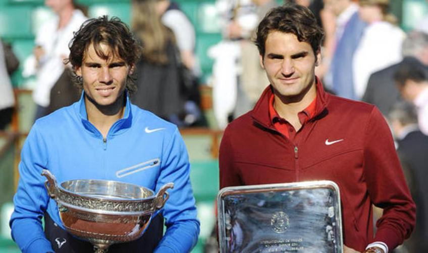 'Roger Federer and Novak Djokovic are Rafael Nadal's clay challenges'