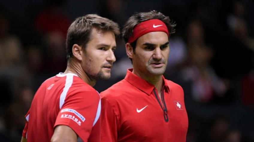 Marco Chiudinelli: Roger Federer has grown up on clay