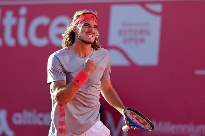 Greek youngster Tsitsipas captures first clay-court title in Estoril