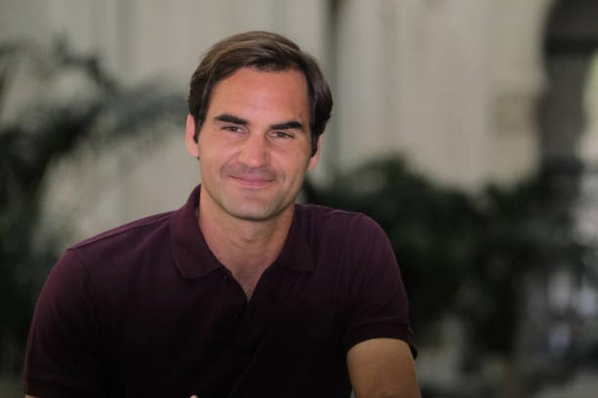 Roger Federer: I enjoyed training on clay. No snow this time