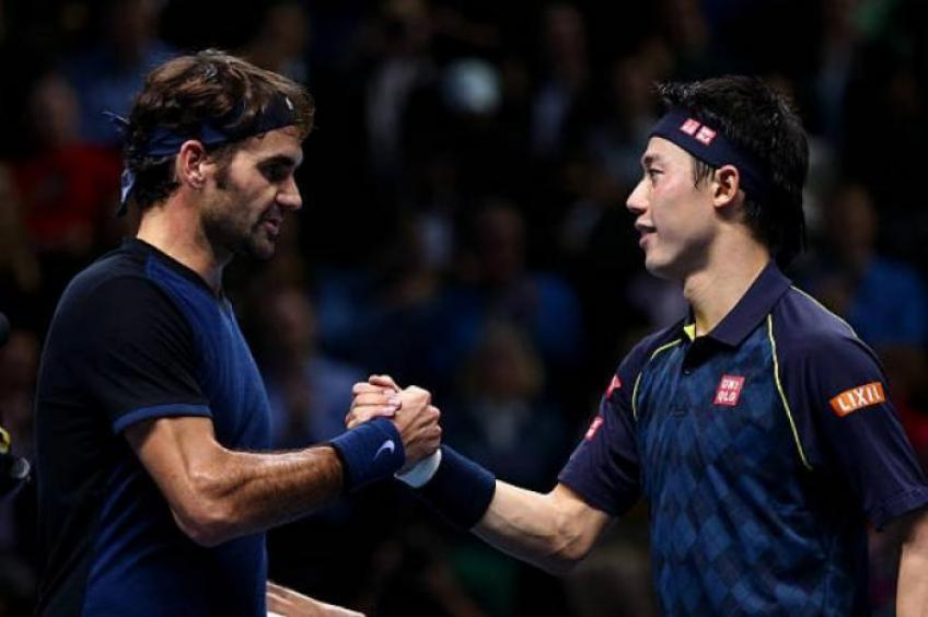 Kei Nishikori happy to see Roger Federer, del Potro play events again
