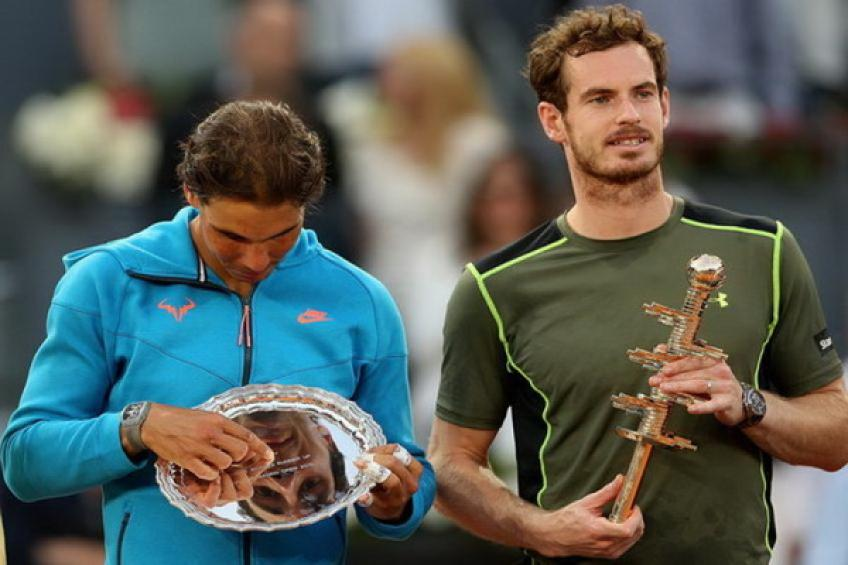 On this day: Andy Murray wins biggest title on clay over Rafael Nadal
