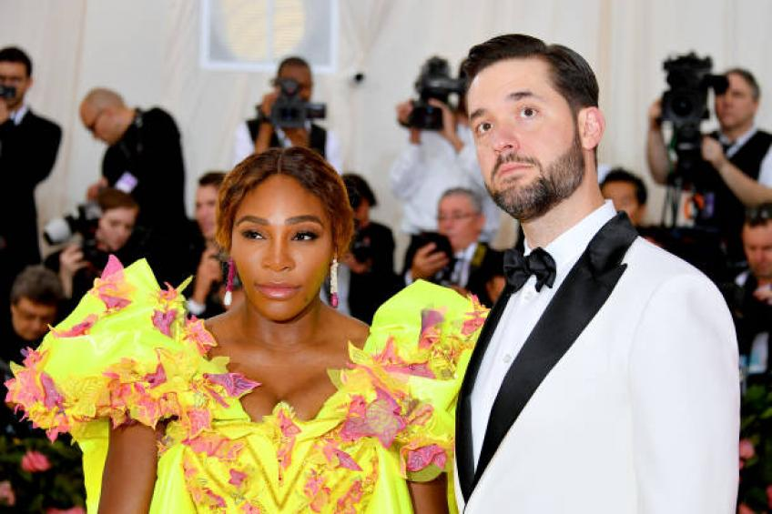 Serena Williams and husband, Maria Sharapova attend Met Gala in New York