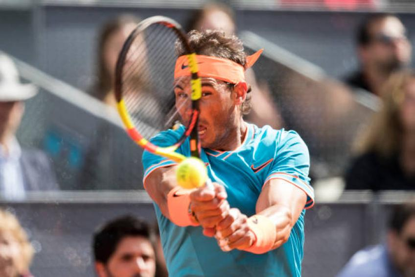 King of clay Nadal falls to Tsitsipas at Madrid Open