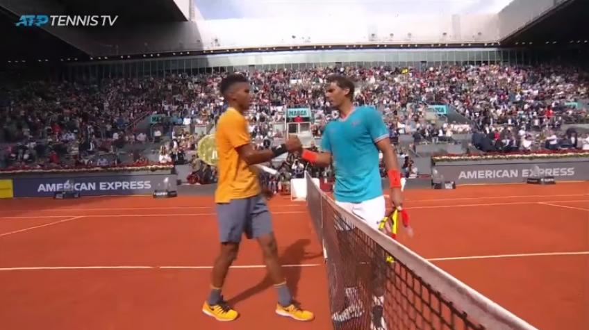 Nadal vs Auger-Aliassime Match Point
