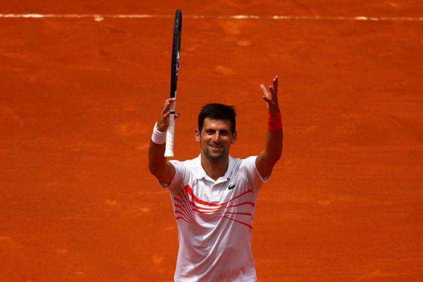 Novak Djokovic reaches Madrid Open semis after Marin Cilic`s withdrawal