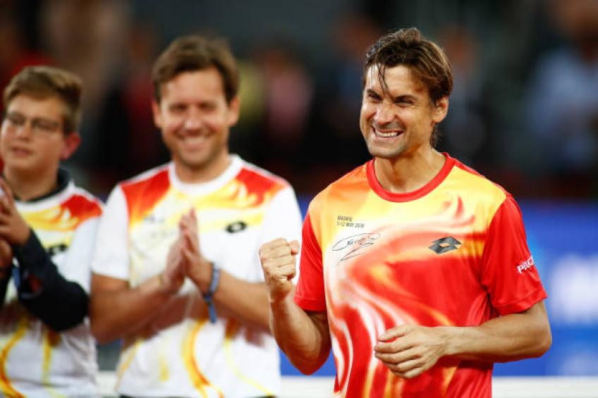 David Ferrer shares what advice he would give a 14 year old