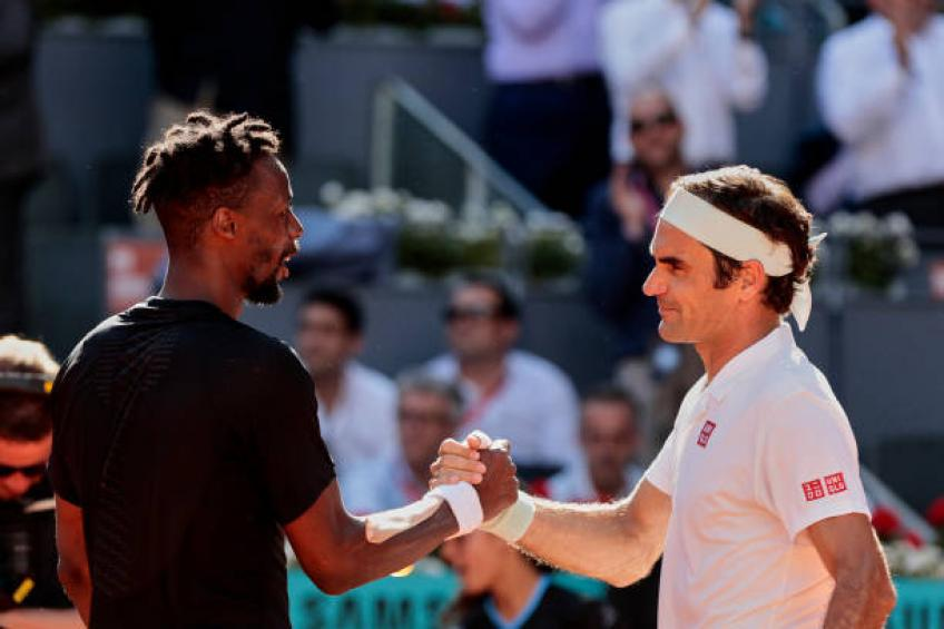 Gael Monfils credits Roger Federer for saving two match points against him