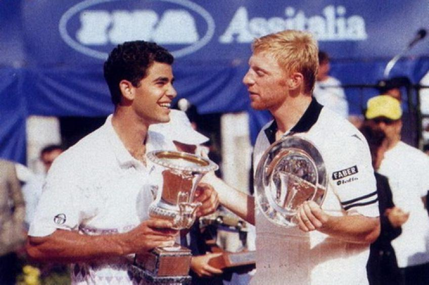 On this day: Pete Sampras eases past Boris Becker in unexpected Rome final