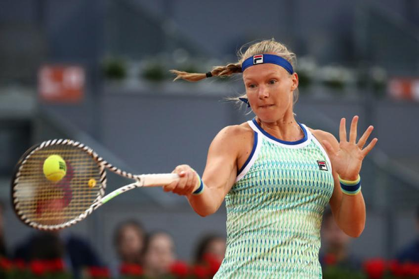 Halep to face Bertens in Madrid Open final