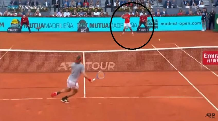 This Is Incredible Defence... Even For Djokovic!