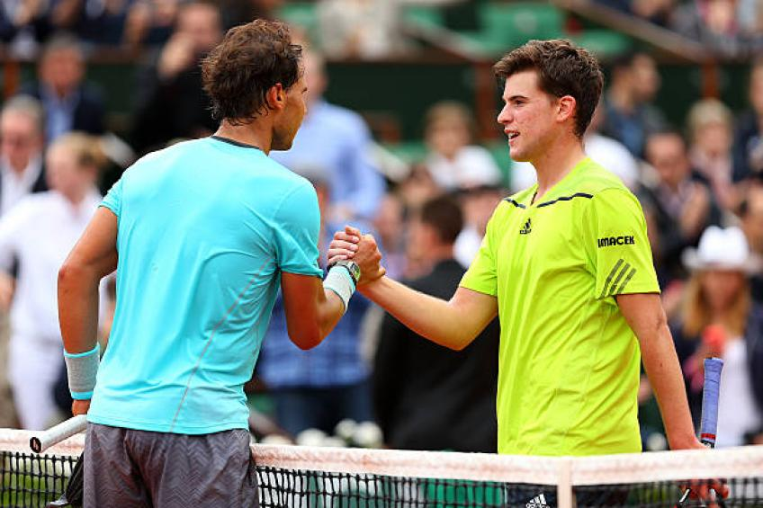 Thiem recalls what his thoughts were after losing to Rafael Nadal in 2014