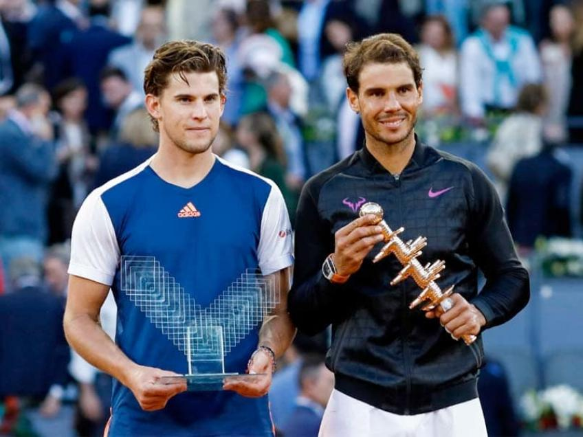 Facing Rafael Nadal with one-handed backhand is an advantage - Thiem