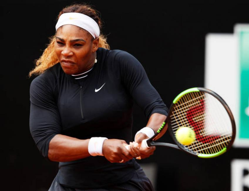 Serena Williams: 'It's great to visit Rome city with my daughter Olympia'