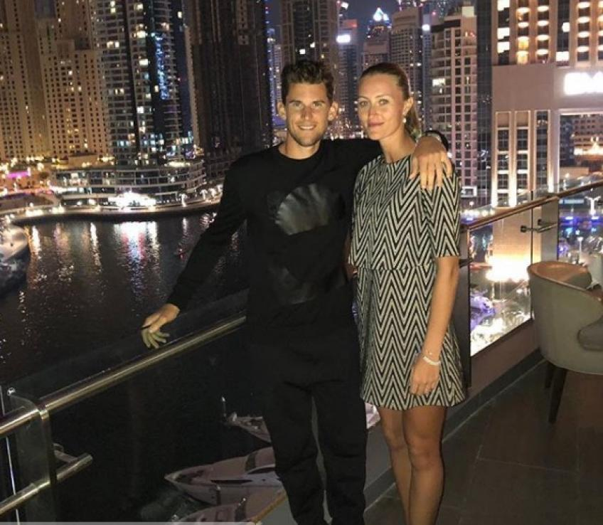 Dominic Thiem shares how dating Kristina Mladenovic helps his tennis