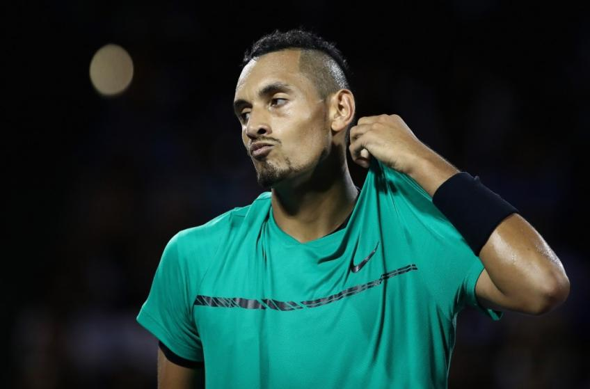 Kyrgios: 'I was joking with Tiafoe' about first point underarm service