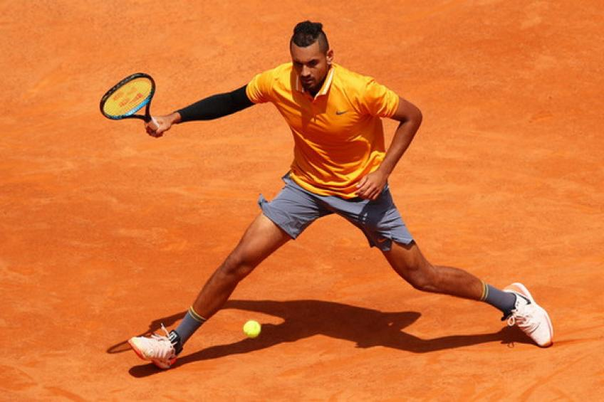 Nick Kyrgios draws clay confidence from wins over Federer and Wawrinka