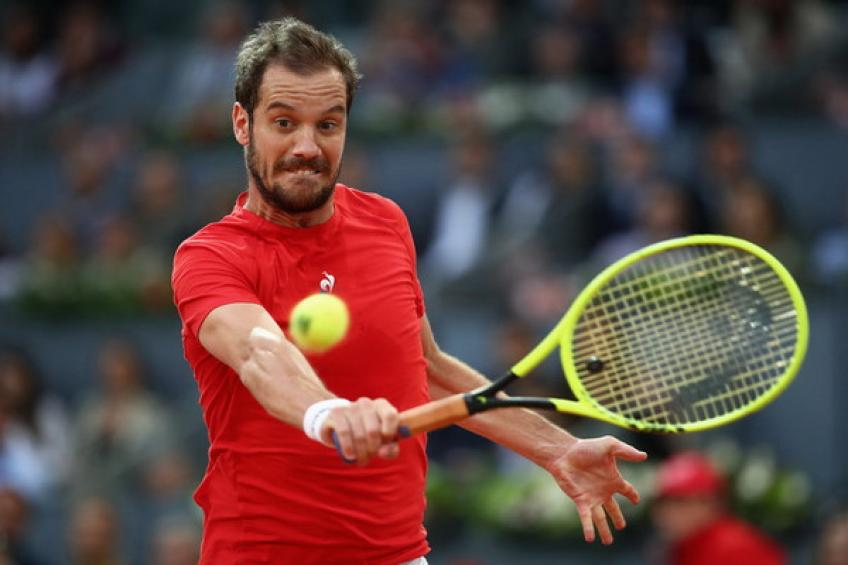 Seeking form and matches, Richard Gasquet takes late Lyon wild card