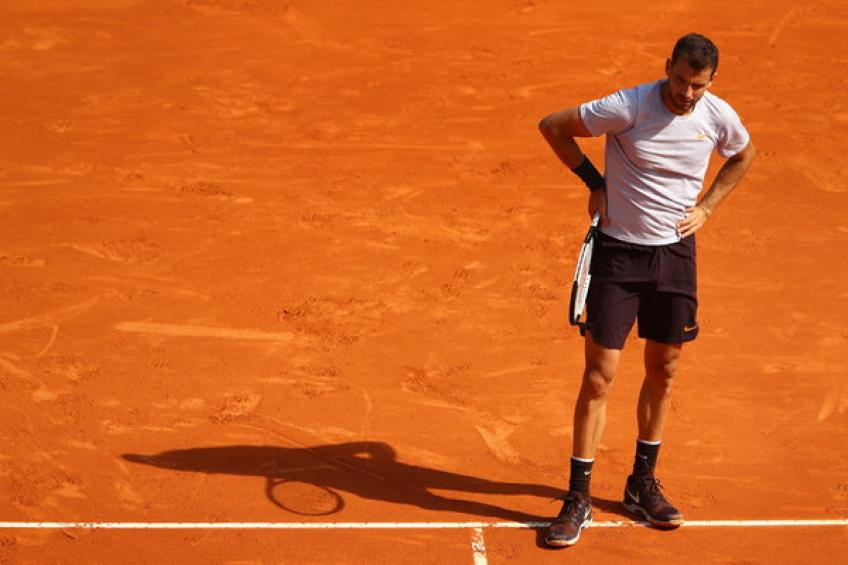 Grigor Dimitrov enters qualifying draw in Geneva, the first since 2012!