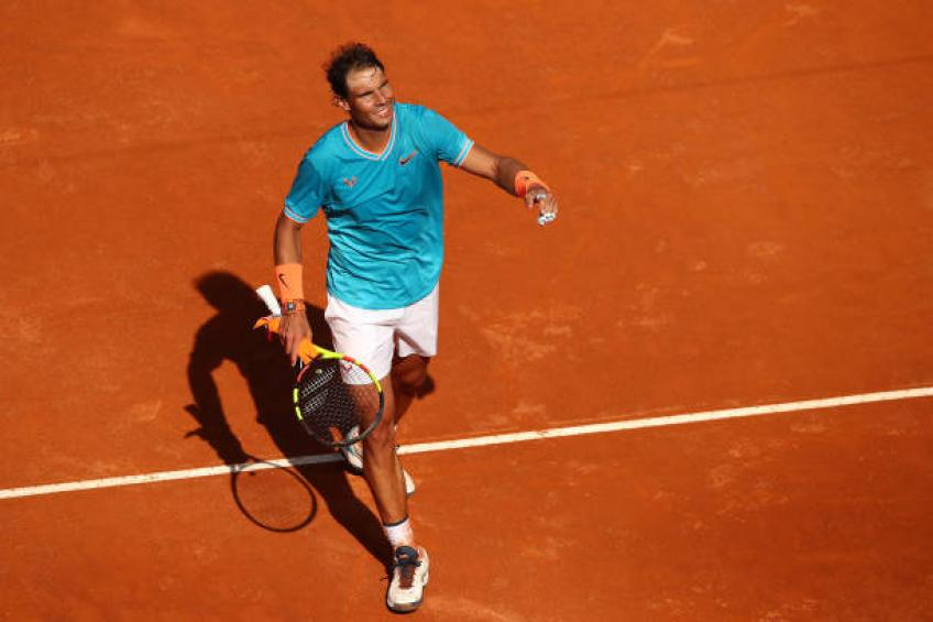 Rafael Nadal bagels Novak Djokovic as he clinches ninth Rome Masters title