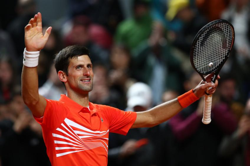Novak Djokovic insists Rafa Nadal is clear favourite for French Open
