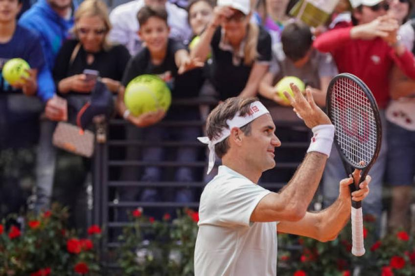 Young player shares funny anecdote about training with Roger Federer