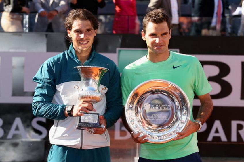 Rafael Nadal, Roger Federer in same half of French Open draw